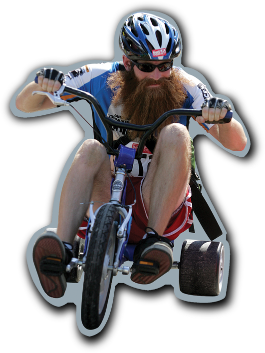 Bearded-Guy-Riding-Big-Wheel